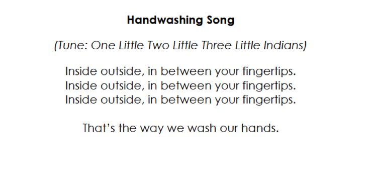 Classroom Transition Ideas ~ Hand washing song transitions in the classroom