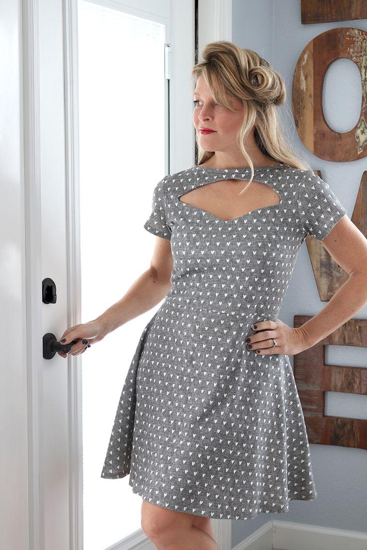 1940's Keyhole Dress Tutorial