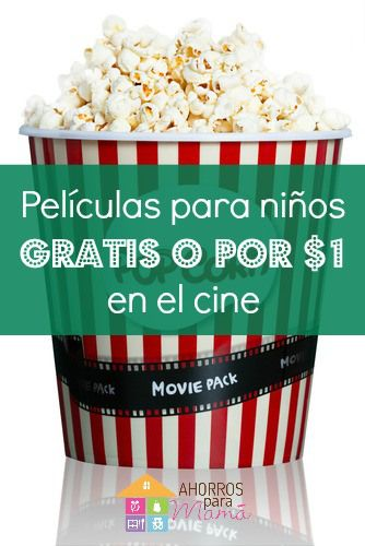 Películas para niños gratis en el verano
