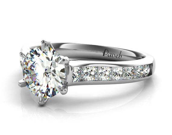 17 best images about popular channel set engagement rings