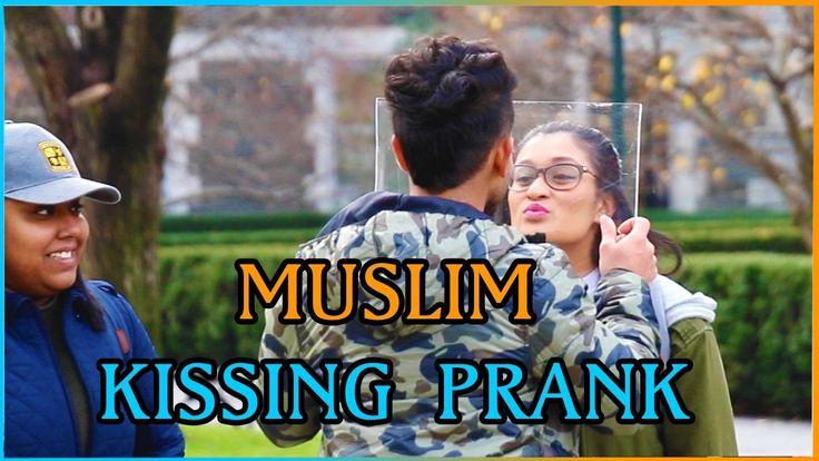 MUSLIM KISSING PRANK IN PUBLIC