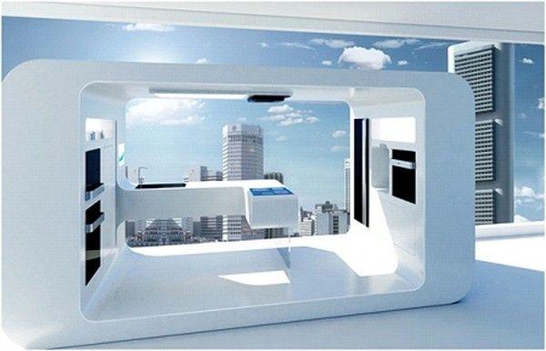 Futuristic Interior.