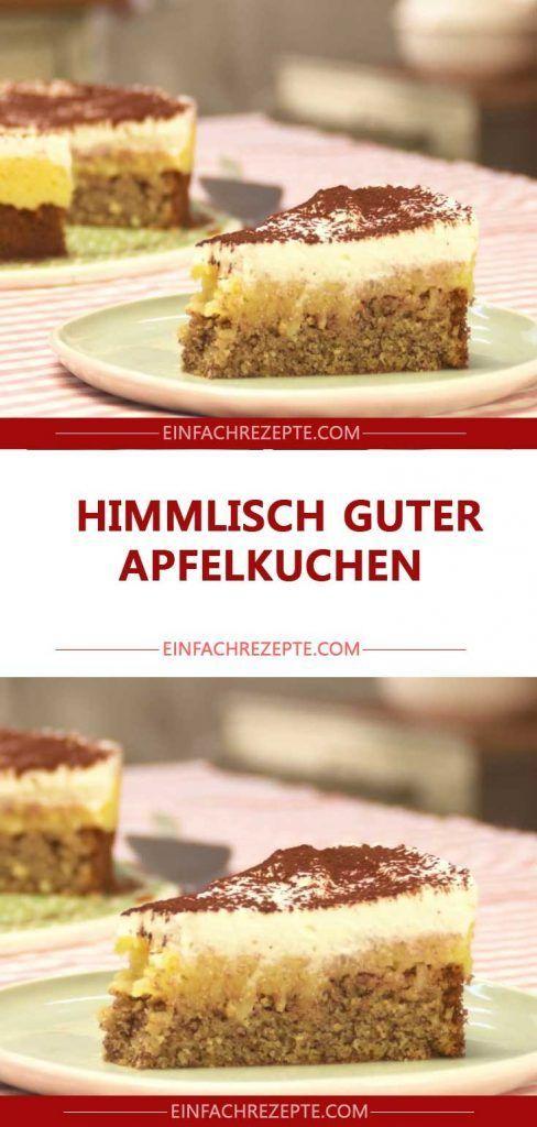 Himmlisch guter Apfelkuchen 😍 😍 😍  # Kuchen