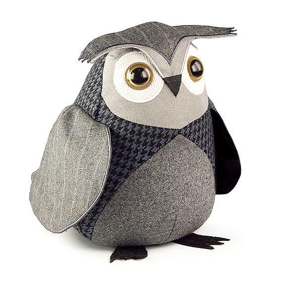 Owl Doorstop - Little Owl from Strawberry Fool