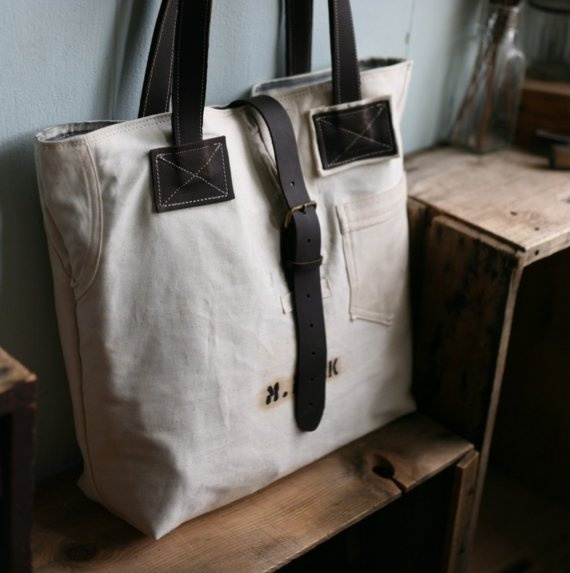 Recycled Cotton Carryall