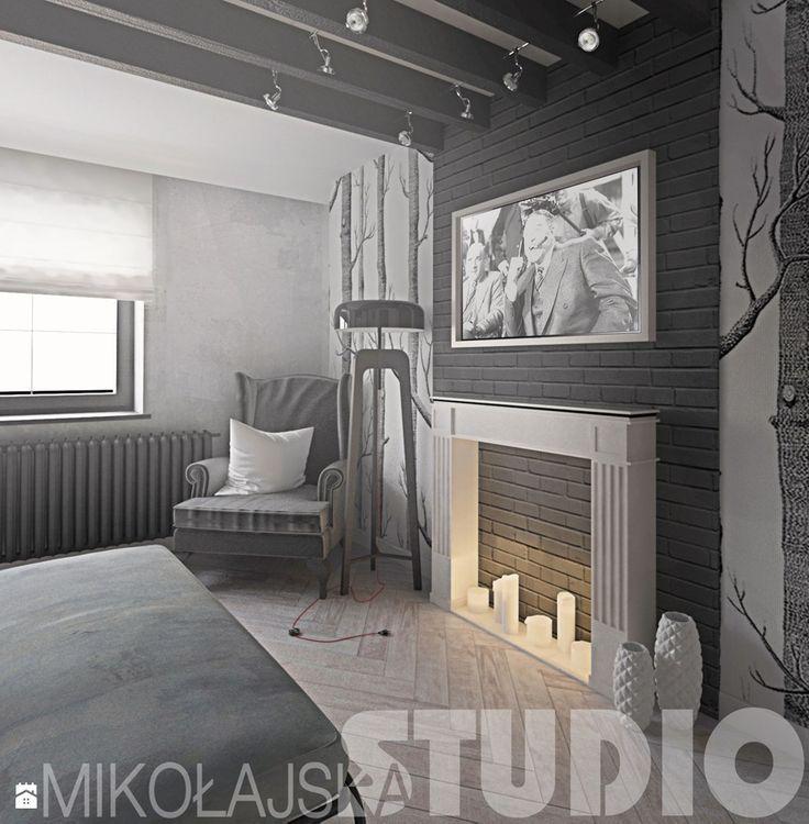 projekty w stylu vintage - zdjęcie od MIKOŁAJSKAstudio - Sypialnia - Styl Vintage - MIKOŁAJSKAstudio