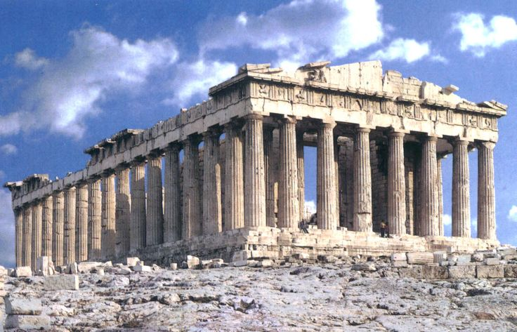 The Parthenon, the most famous ancient Greek landmark of them all.