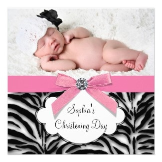 More than 30 beautiful baby girl Christening / Baptism Invitations