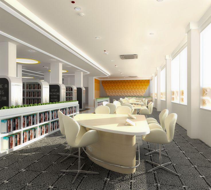 [Final Project] Reading Area of Library Center
