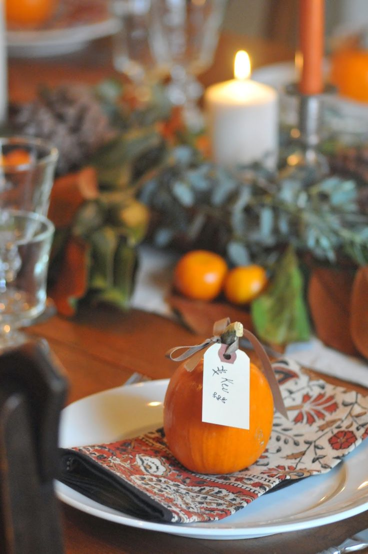 Best thanksgiving name cards ideas on pinterest