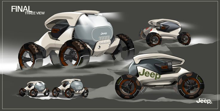 JEEP concept on Behance