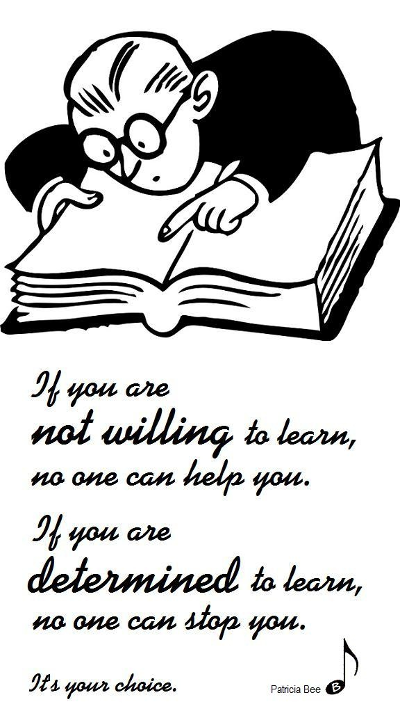 grammar - How to express the willingness to learn things ...