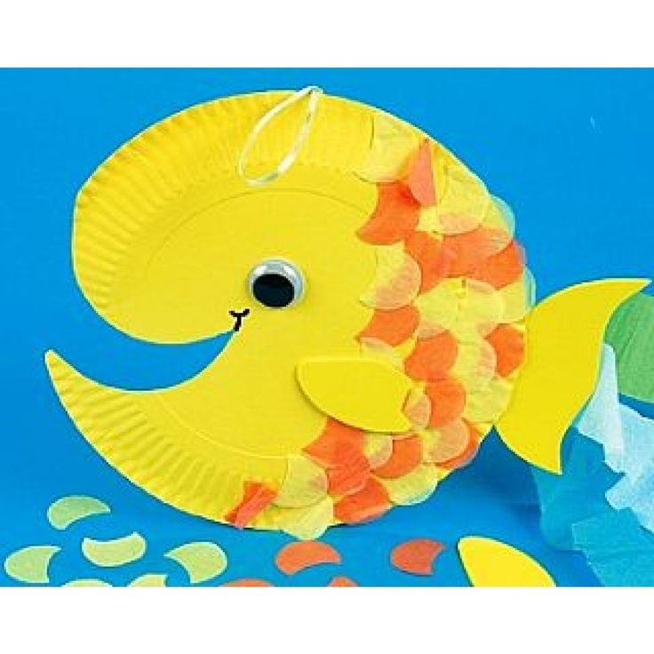 how to make fish in craft paper