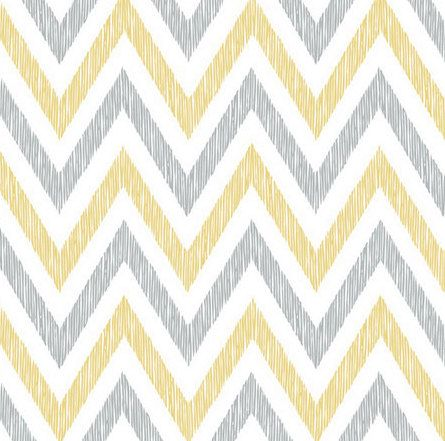 ORGANIC Crib Sheet - Grey Yellow Chevron Sheet / Nursery Bedding / Standard or Mini Crib Sheet on Etsy, $47.00
