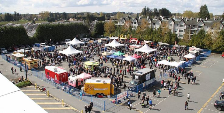 April 9th, head to the Cloverdale Fairgrounds for the Fraser Valley Food Truck Festival! Via @vancitybuzz #TrueSurrey