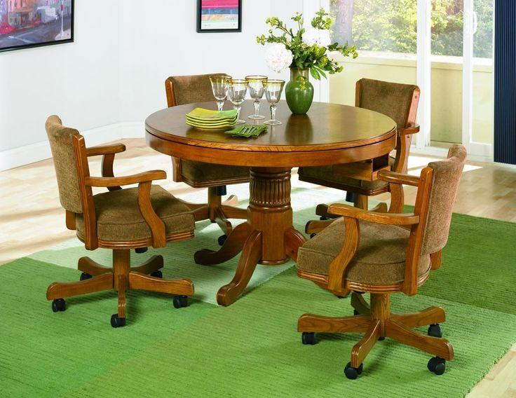 Casual Oak Arm Chair