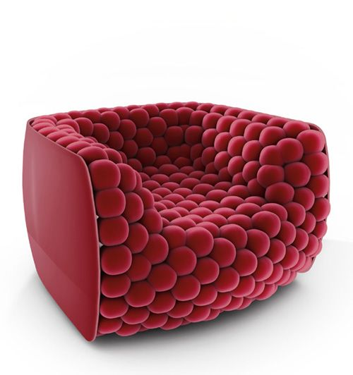 Arktetonix | Blueberry Armchair / Carlo Colombo