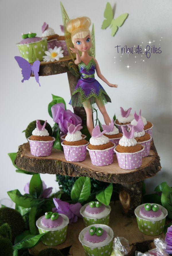 Le 5e anniversaire d'Iléna sur le thème de la fée Clochette