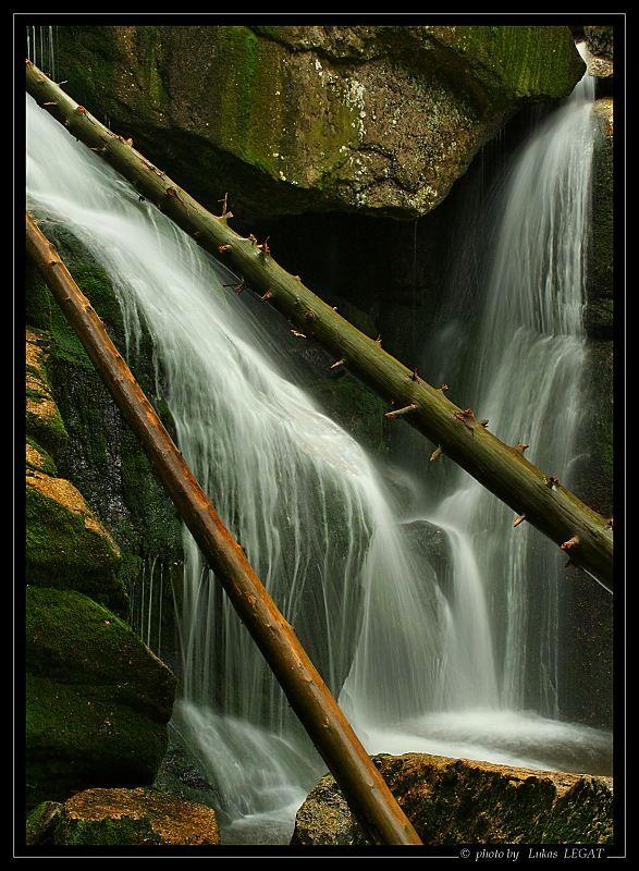 Lukáš Legat: Vodopád na Černém potoce