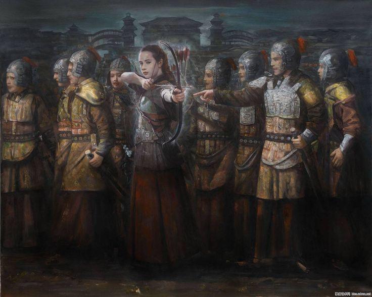 Chinese palace guards
