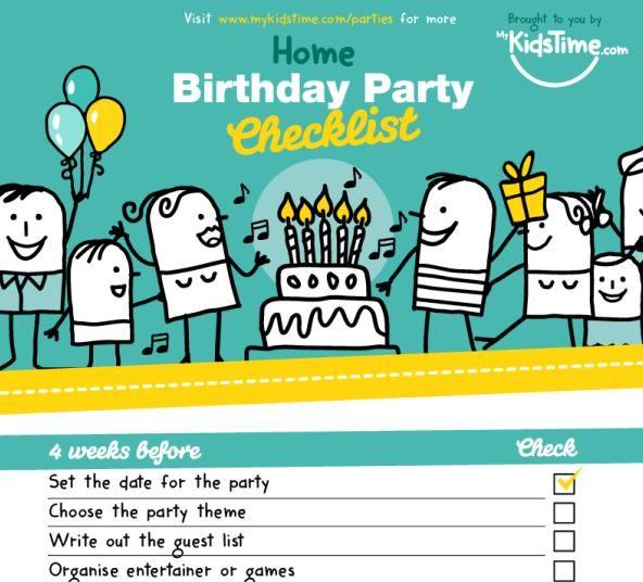 Best 25+ Birthday party checklist ideas on Pinterest Party - birthday party checklist template