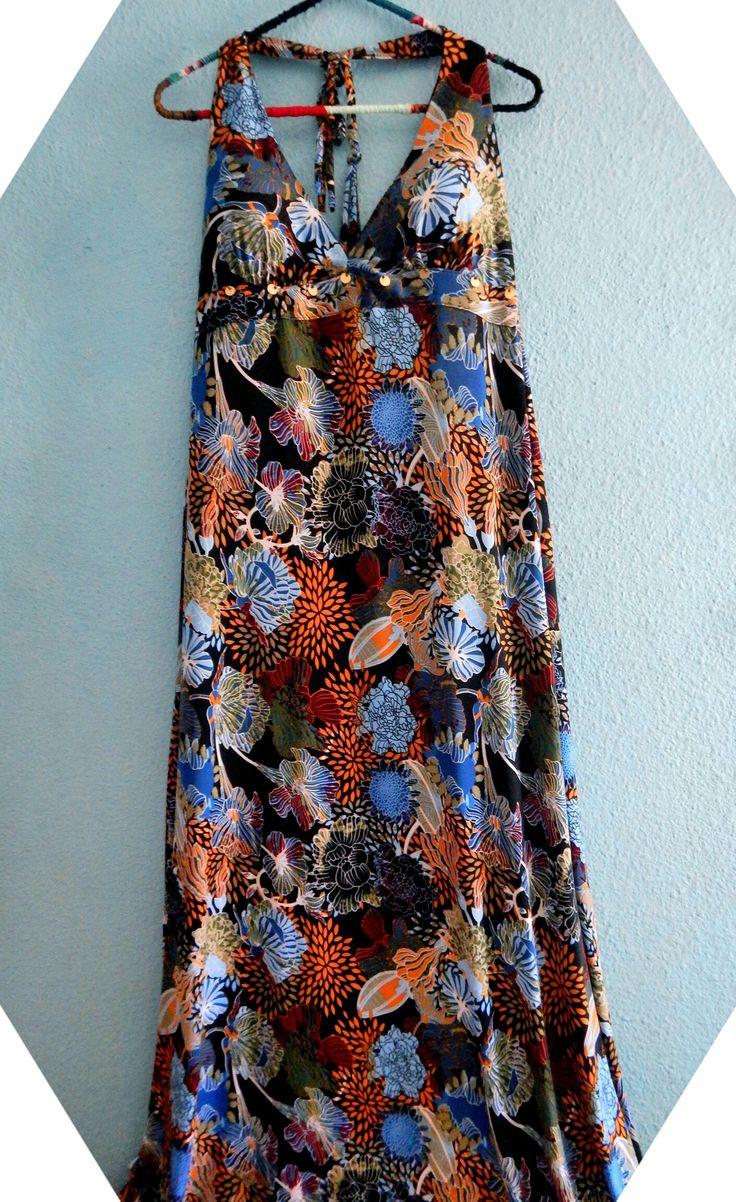 Maxi vestido  Constanza Ferrer diseño
