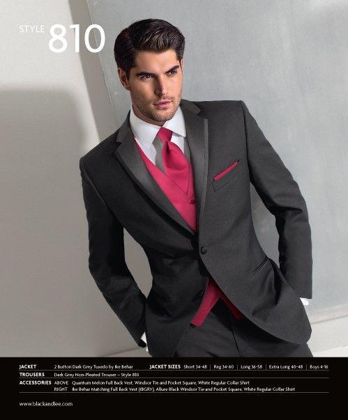 Tuxedos rental - Black & Lee