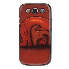 Κάλυμμα πίσω μέρους - Ειδικός Σχεδιασμός - Samsung Mobile Phone - για Samsung S3 I9300 ( Πολύχρωμο , Πλαστικό )