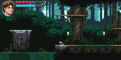 Indie Retro News: Into The Rift - An awesome pixelated action platformer teased!