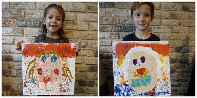 kreatywnyMaks: Portret  dla  babci