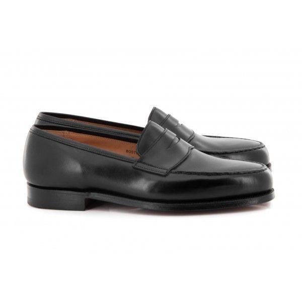 Mocassins BOSTON CALF de Crockett and Jones   Modèle de Mocassins de luxe   Upper Shoes Homme