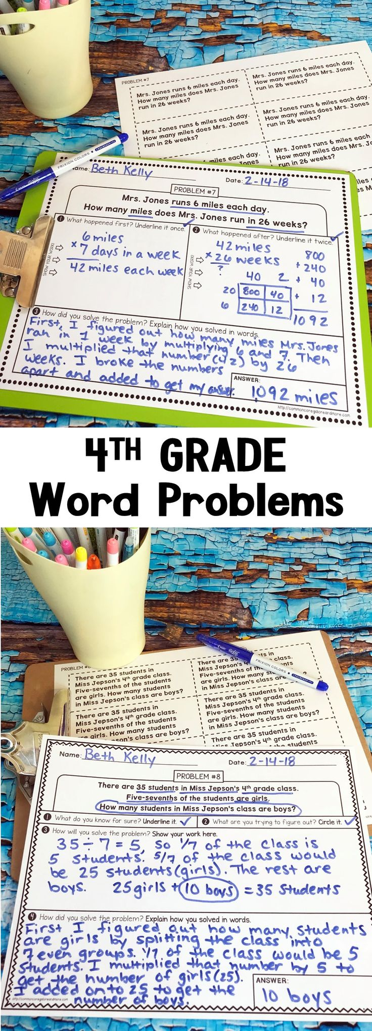 6188 best lessons for upper elementary classrooms images on 4th grade word problems bundle fandeluxe Image collections