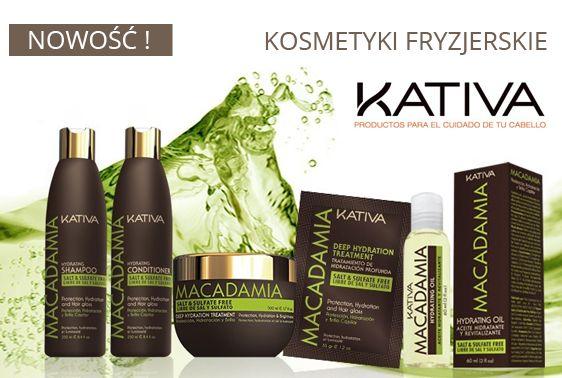 Nowoczesne, pozbawione soli kosmetyki do pielęgnacji włosów peruwiańskiej marki KATIVA.
