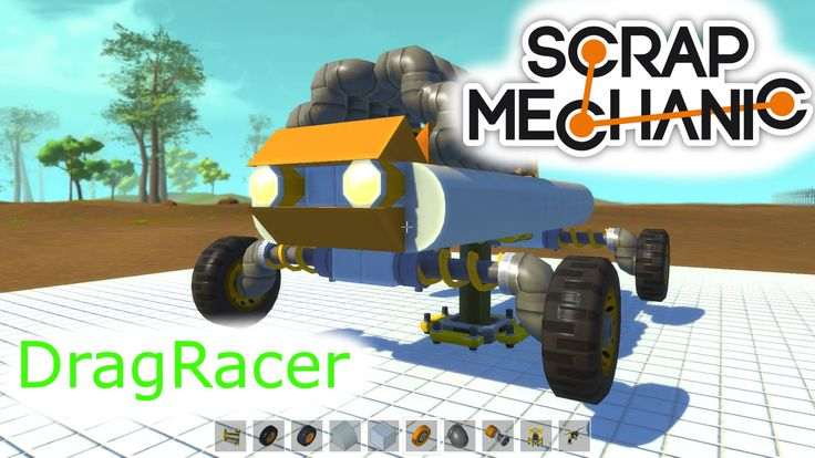 Scrap Mechanic DragRacer 02
