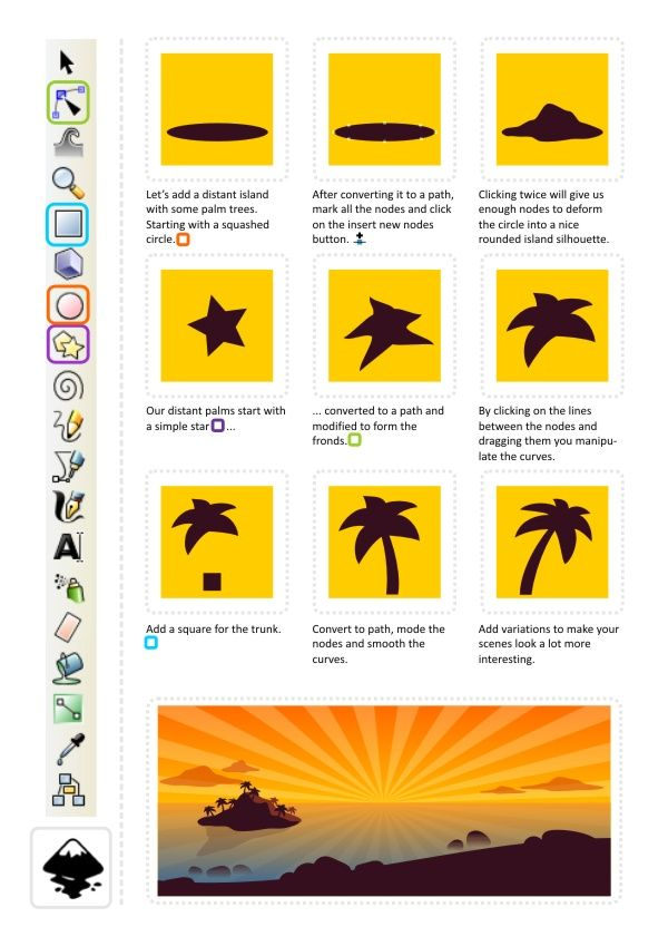 2D Game Art for Programmers: Staying in shape... the Clip Tool...