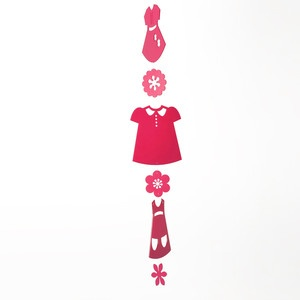Paper Doll Dress Fuchsia now featured on Fab.