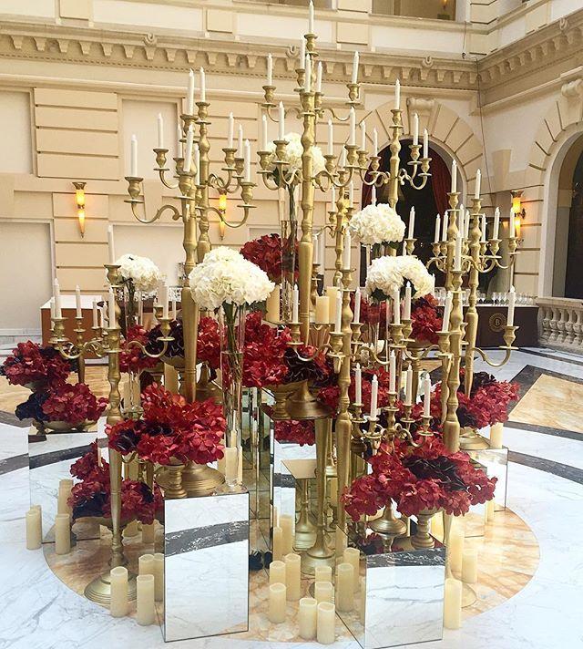 Our Birthday Decoration @boscolobudapest  #birthdayparty #lobby #fivestar #luxury