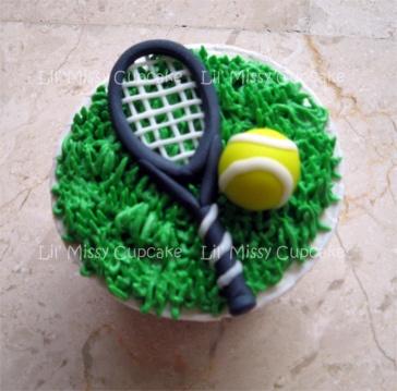tennis by Lil' Missy Cupcake, via Flickr