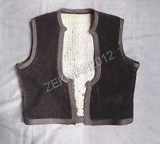 Antique Traditional Folk Greek Women's Velvet Vest from Metaxades