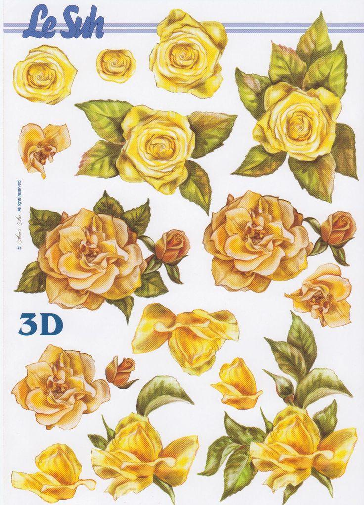 682 best 3d flowers images on pinterest   card making, 3d sheets