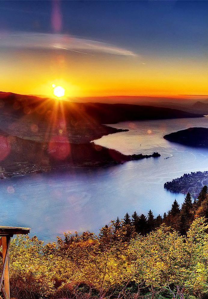 Lake Annecy,Haute-Savoie,France: