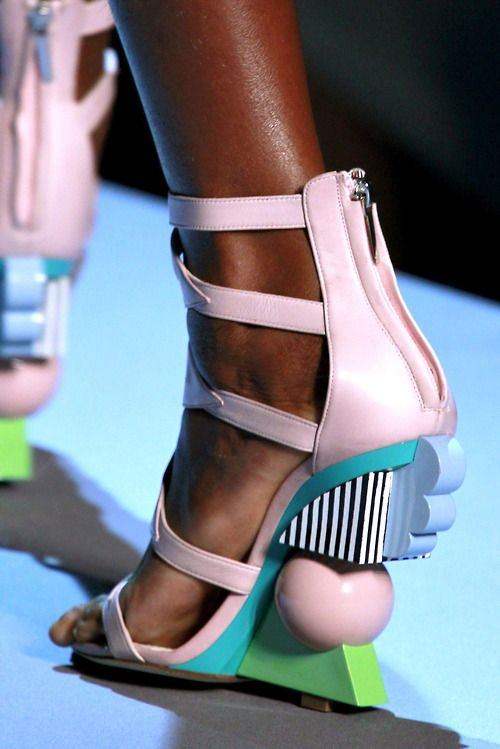 Oh. My. Goodness! Would you just look at these heels! Where can we get our pair?!