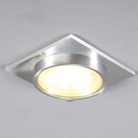 Einbaustrahler Topaz Quadrat Aluminium #Einbauleuchte #Lampe #Light  #einrichten #Innenbeleuchtung #wohnen