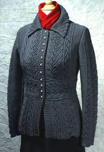 Gloriana by Dorothy Siemens, Fiddlesticks Knitting