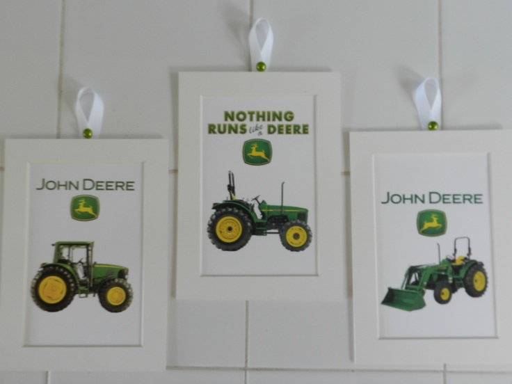 John Deere Wall Decor : Best images about boys room on john deere