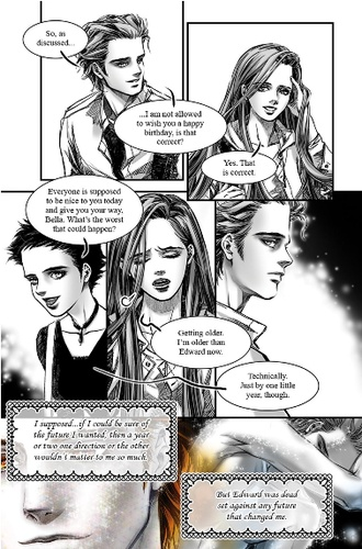 NEW MOON: THE GRAPHIC NOVEL - VOL. 1 Credit: Little Brown Books via EW