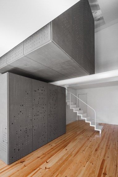 Grey Wall panelling