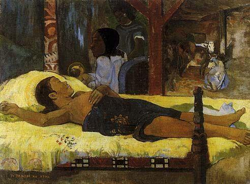 GAUGUIN - Te tamari no Atua (Nascita di Cristo) - 1896 - N. Pinakothek, München.