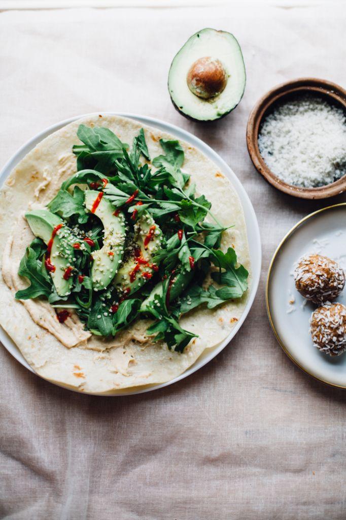 power greens tortilla