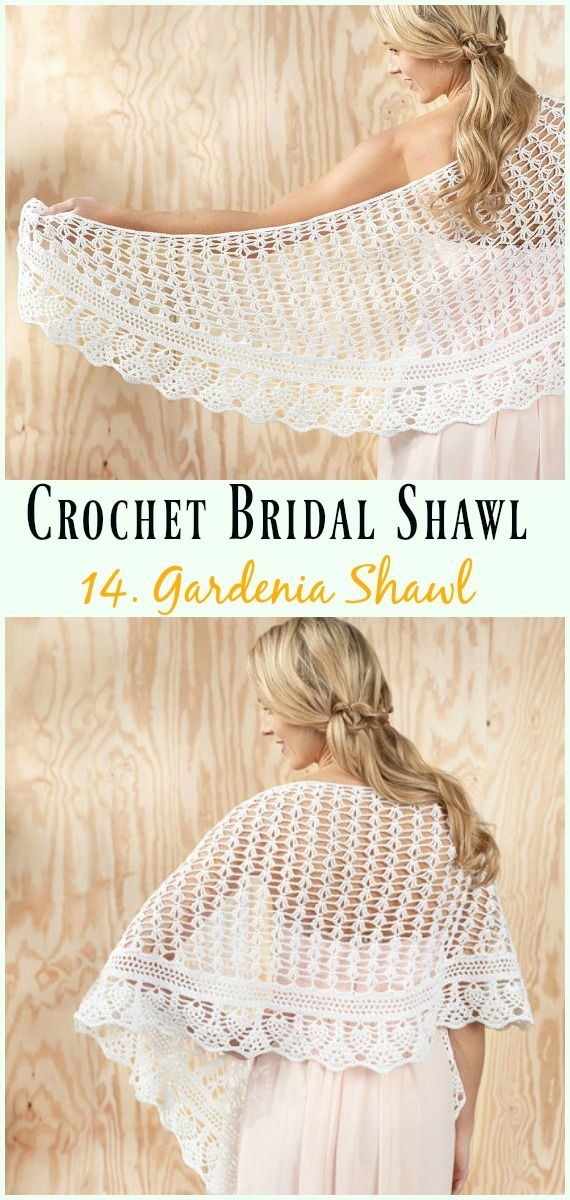 Crochet Bridal Shawl Free Patterns For Wedding Elegance